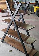 Книжная полка в стиле LOFT (Rack - 164). Мебель в стиле лофт от производителя для дома, кафе, офиса