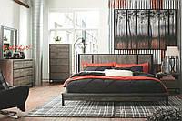 Кровать в стиле LOFT (Bed - 078)