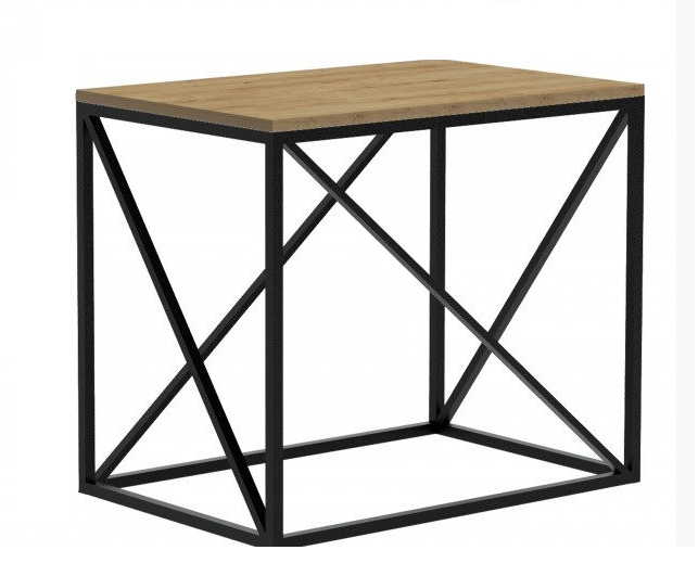 Приставной столик в стиле LOFT  (Table - 924)