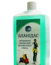 Бланидас - нейтральное моющее средство для водостойких полов, 1 л