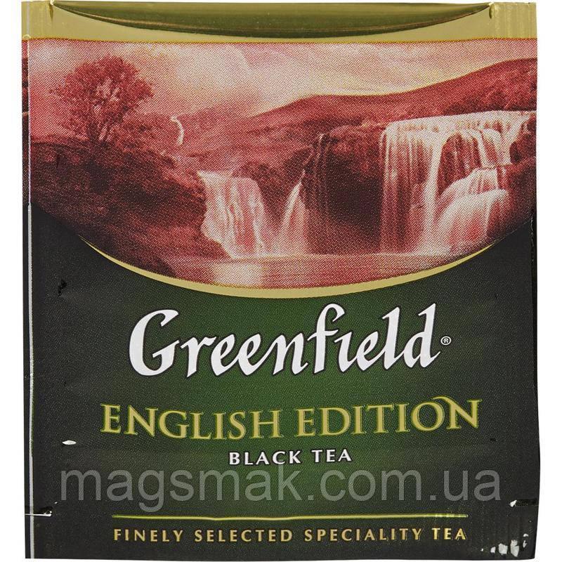 Чай Greenfield English Edition (HoReCa), 100 пакетов