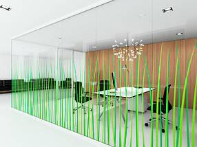 Стеклянные офисные перегородки, фото 3