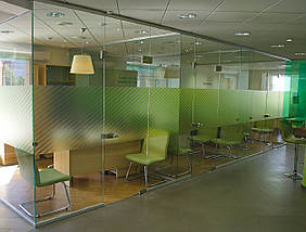 Стеклянные офисные перегородки, фото 2