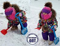 Зимнее пальто ( можно комплект ) модняшка , фото 1