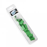 Набор клипс для гастроемкости 12 шт зеленый Hendi 880678