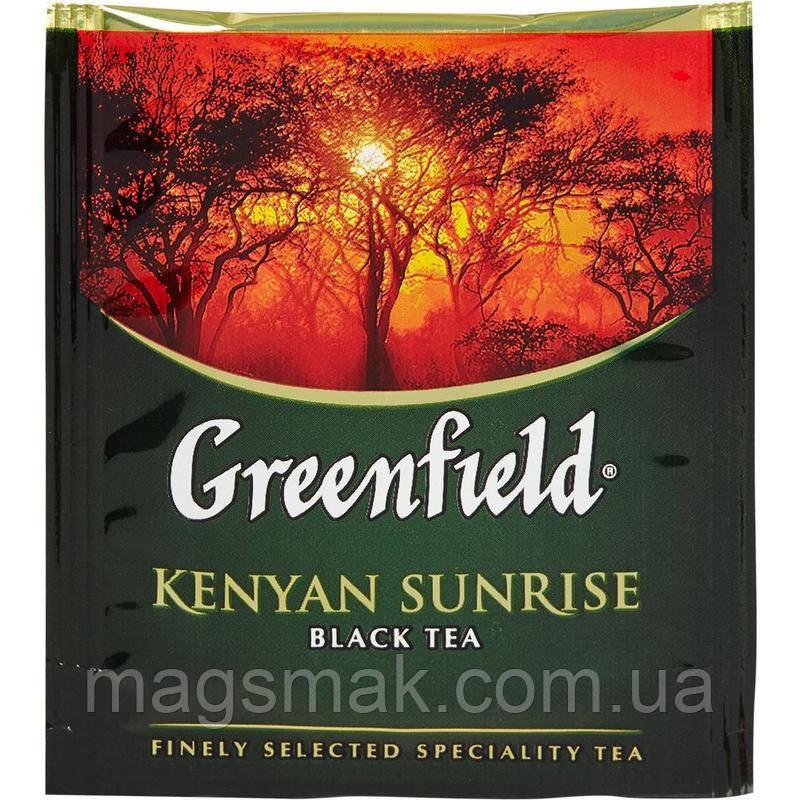 Чай Greenfield Kenyan Sunrise (HoReCa), 100 пакетов