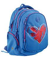 Рюкзак подростковый школьный Т-22 Step One Magic heart 556489 Yes