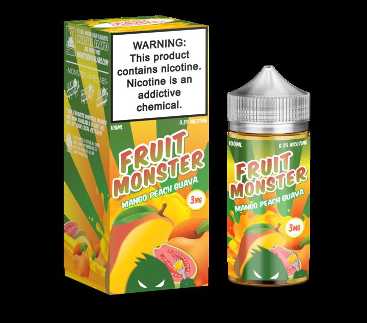 Премиум жидкость Fruit Monster - Mango Peach Guava 100ml [3mg] (Original)