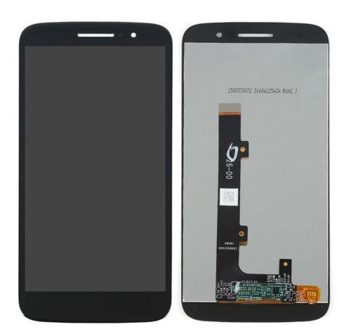 Дисплей (екран) для Motorola XT1663 Moto M з сенсором (тачскріном) чорний