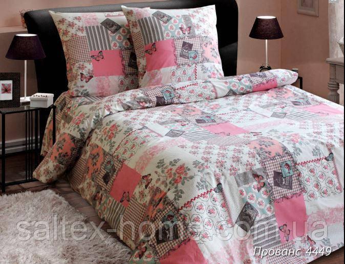 Ткань для постельного белья, бязь набивная, ПРОВАНС