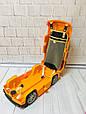 Детский чемодан-машина ДЖИП ОРАНЖЕВЫЙ арт. 1182, фото 4