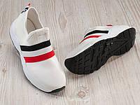 Женские кроссовки слипоны белые 36, 37,38 размер