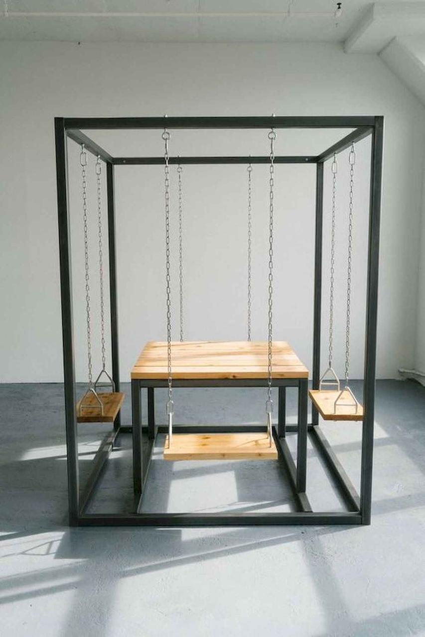 Садовый стол в стиле LOFT (Garden Table - 10)