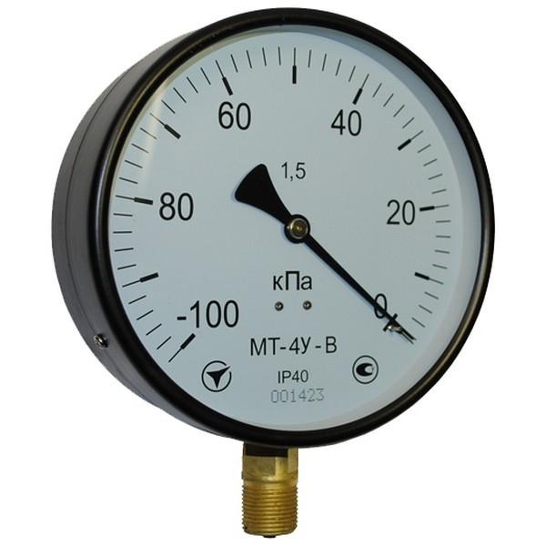 Манометр общетехнический МТ-4У к.т.1,0 0,16…6 МПа