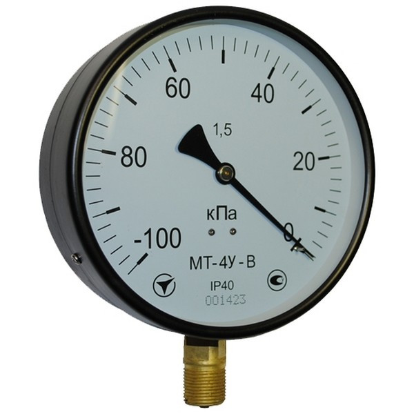 Манометр общетехнический МТ-4У 10,0…25,0 МПа