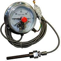 Термометр капиллярный электроконтактный ТМП-100С 10м к.т 1,5 (от 0 до +150 °С)