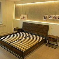 Кровать в стиле LOFT (Bed - 056)
