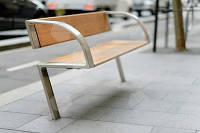 Скамейка парковая в стиле LOFT (Street Bench - 22)