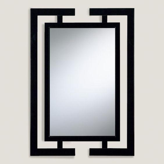 Настенное Зеркало в стиле LOFT (Wall Shelf - 77)