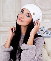 Женская шапка Braxton Аурелия белая