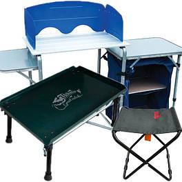 Туристическая мебель: кресла, столы, кухни, комплекты, табуреты