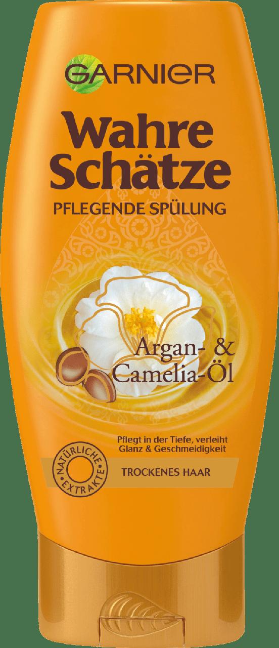 Кондиционер для волос GARNIER Wahre Schätze Argan & Camelia-Öl, 250 мл.