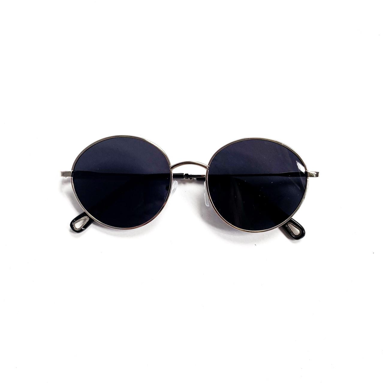 Имиджевые солнцезащитые круглые очки унисекс v10429