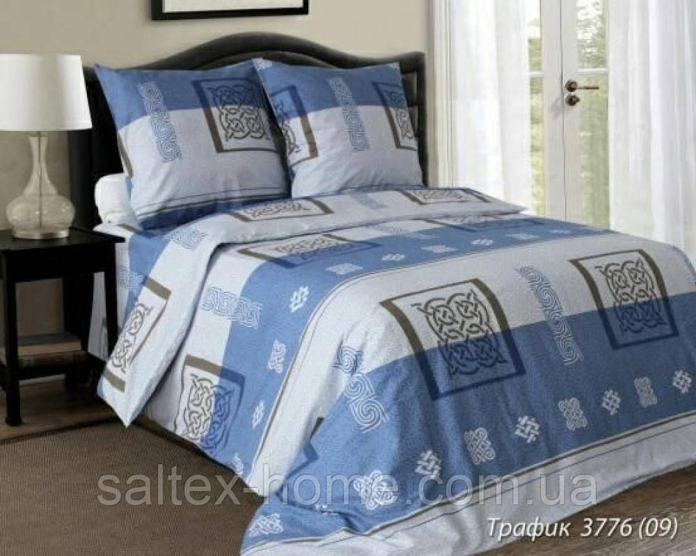 Ткань для постельного белья, бязь набивная, ТРАФФИК