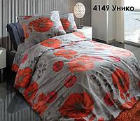 Ткань для постельного белья, бязь набивная, УНИКО