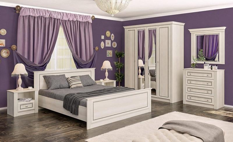 Спальня Бристоль (Мебель-Сервис)