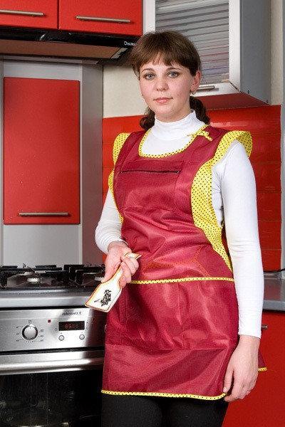 Фартук для кухни 4405 (торговый женский нейлон) Хелслайф