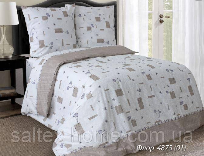 Ткань для постельного белья, бязь набивная, ФЛОР
