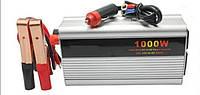 Инвертор автомобильный 12-220В, преобразование напряжения в бортовой сети, для подключения техники/инструмента