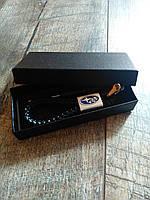Шкіряний брелок для автомобиля Subaru  кожаный для ключей авто субару + подарункова коробка