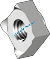 DIN 928, гайка приварная квадратная из нержавеющей стали