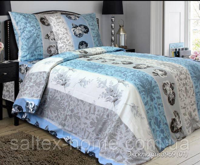 Ткань для постельного белья, бязь набивная, ЭКСКЛЮЗИВ