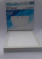 Светодиодная панель Feron AL505 24W 5000K (корпус белый)