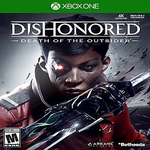 Dishonored Death of The Outsider ENG Xbox One