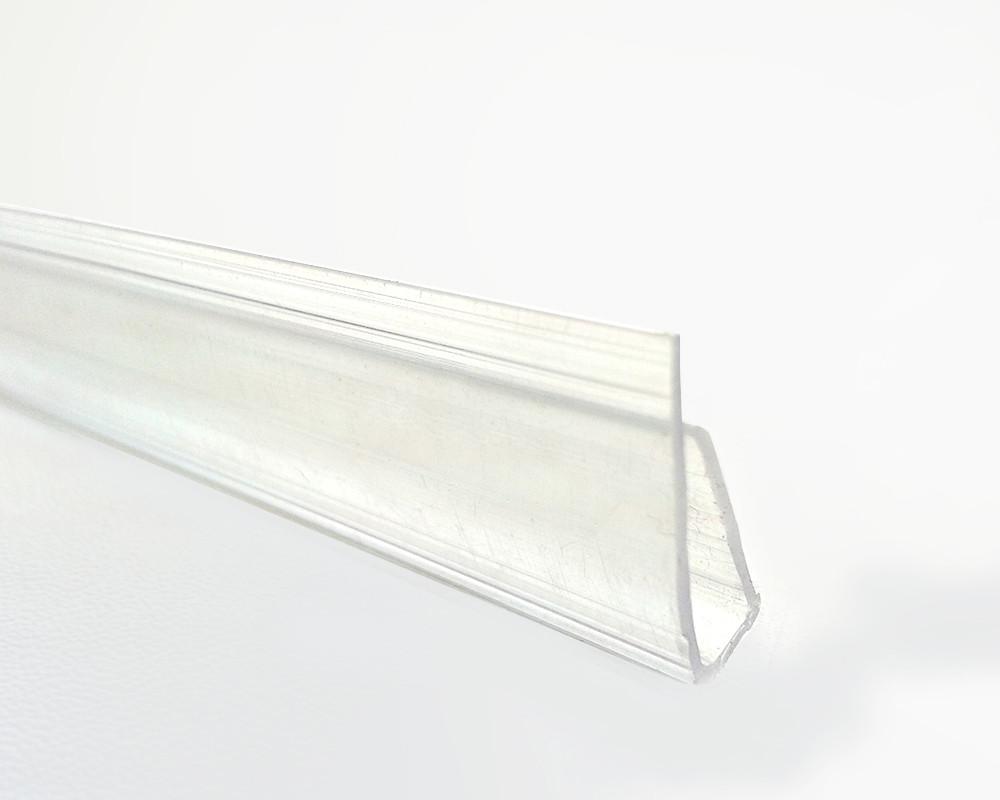 Торцевой профиль Oscar UP 8мм прозрачный 2100мм
