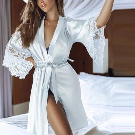 Сексуальный халат (Размер L), фото 2