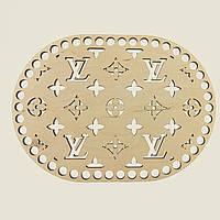 Овальное донышко для вязанных корзин Shasheltoys (100230.28) 280х370 мм