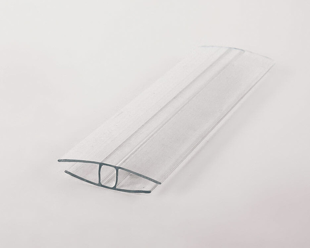 Соединительный профиль Oscar HP 4мм прозрачный  6000мм