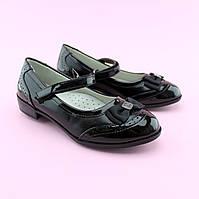 Туфли для девочки черные с ремешком тм Том.М размер 36,38, фото 1
