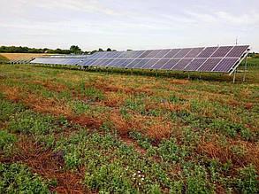 Наибольшее фотополе образовано 36-ю солнечными панелями.