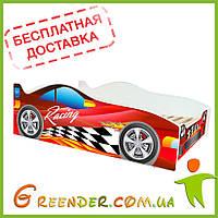 Кровать детская деревянная Evolution Гоночная в 3 цветах (доставка бесплатная!)