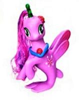 Чудо Лошадка - русалка - единорог Z 215-16 LP Little Pony Сиреневая (6 видов) | игрушка для девочек Литл Пони
