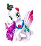 Чудо Лошадка - русалка - единорог Z 215-16 LP Little Pony Белая (6 видов) | игрушка для девочек Литл Пони