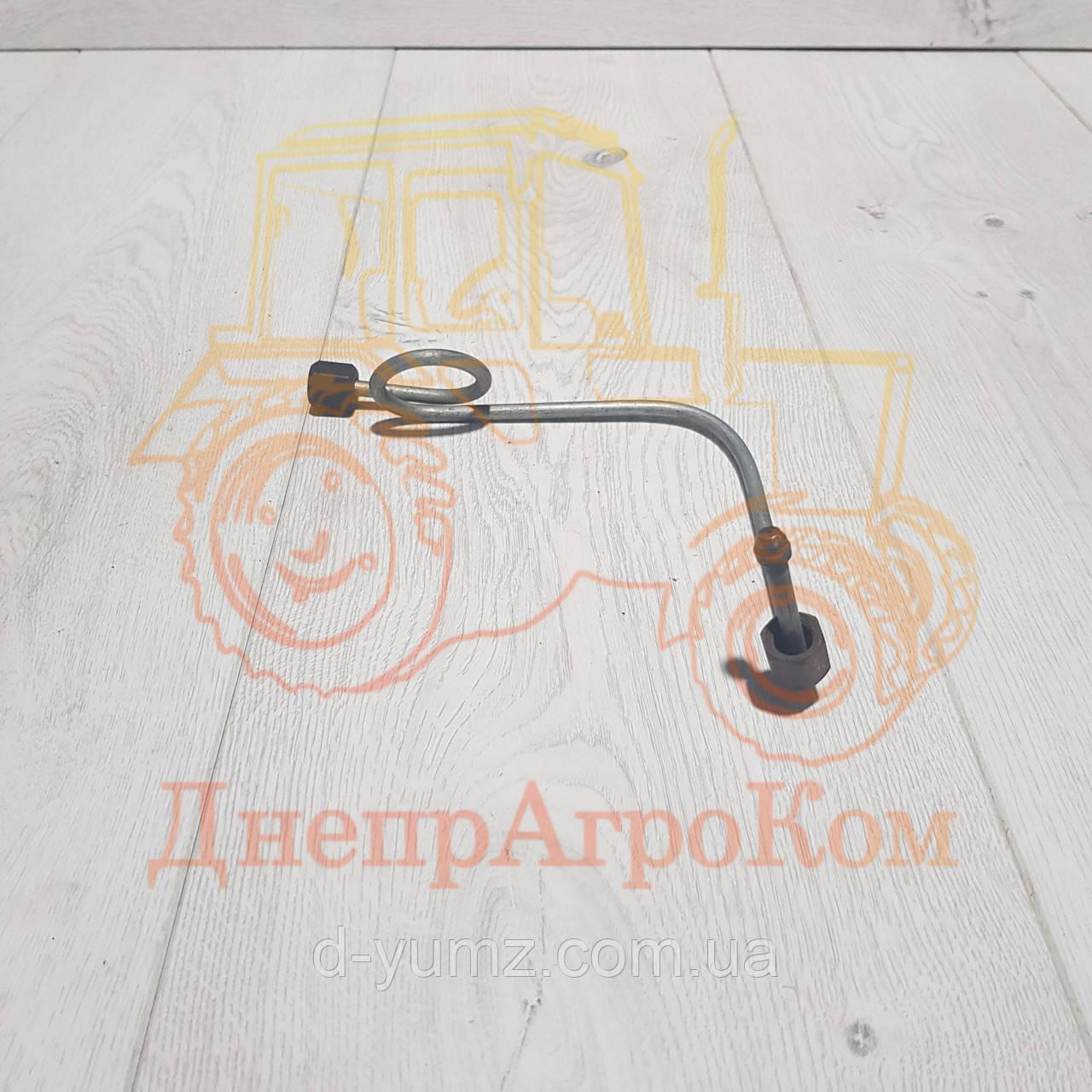 Топливопровод высокого давления ЮМЗ первого цилиндра   Д65-16-С18