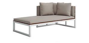 Модульный Диван-Шезлонг в стиле LOFT (Deck chair - 07)