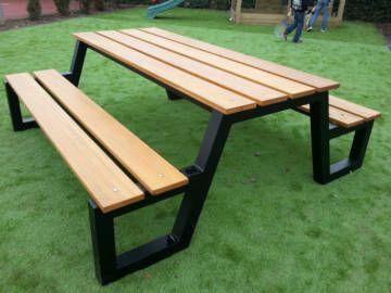 Садовый стол в стиле LOFT (Garden Table - 06)